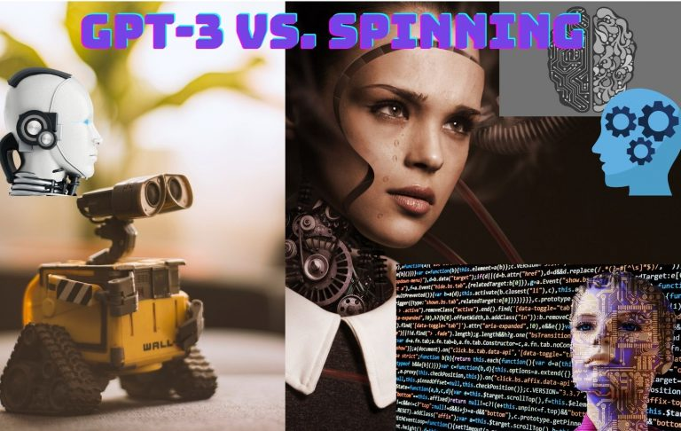 GPT-3 AI Generated Content Vs. Article Spinning